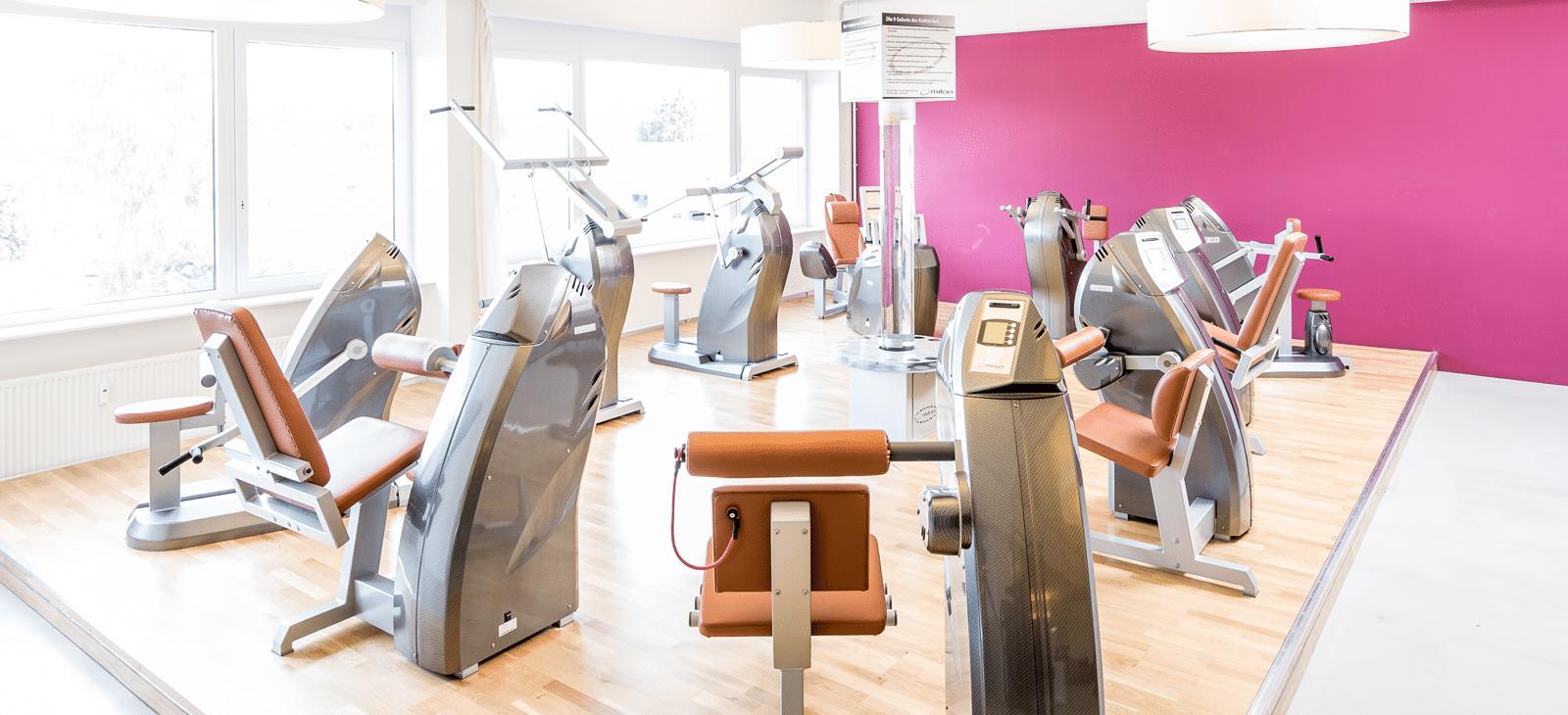 Der Milon Zirkel im Fitness-Loft Woman Freiburg