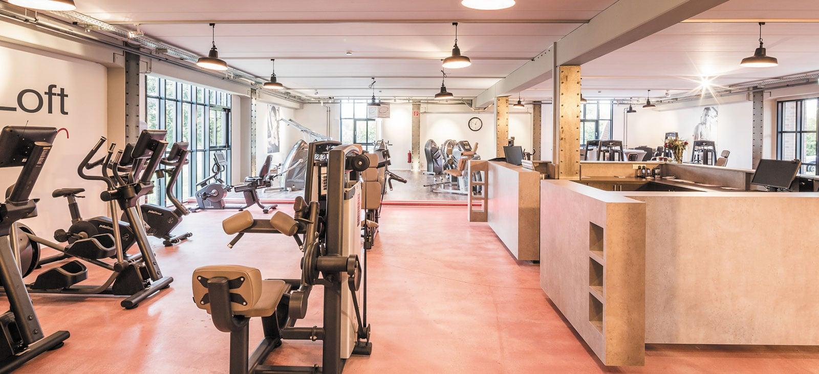 Fitness-Loft Gundelfingen Trainingsbereich EG