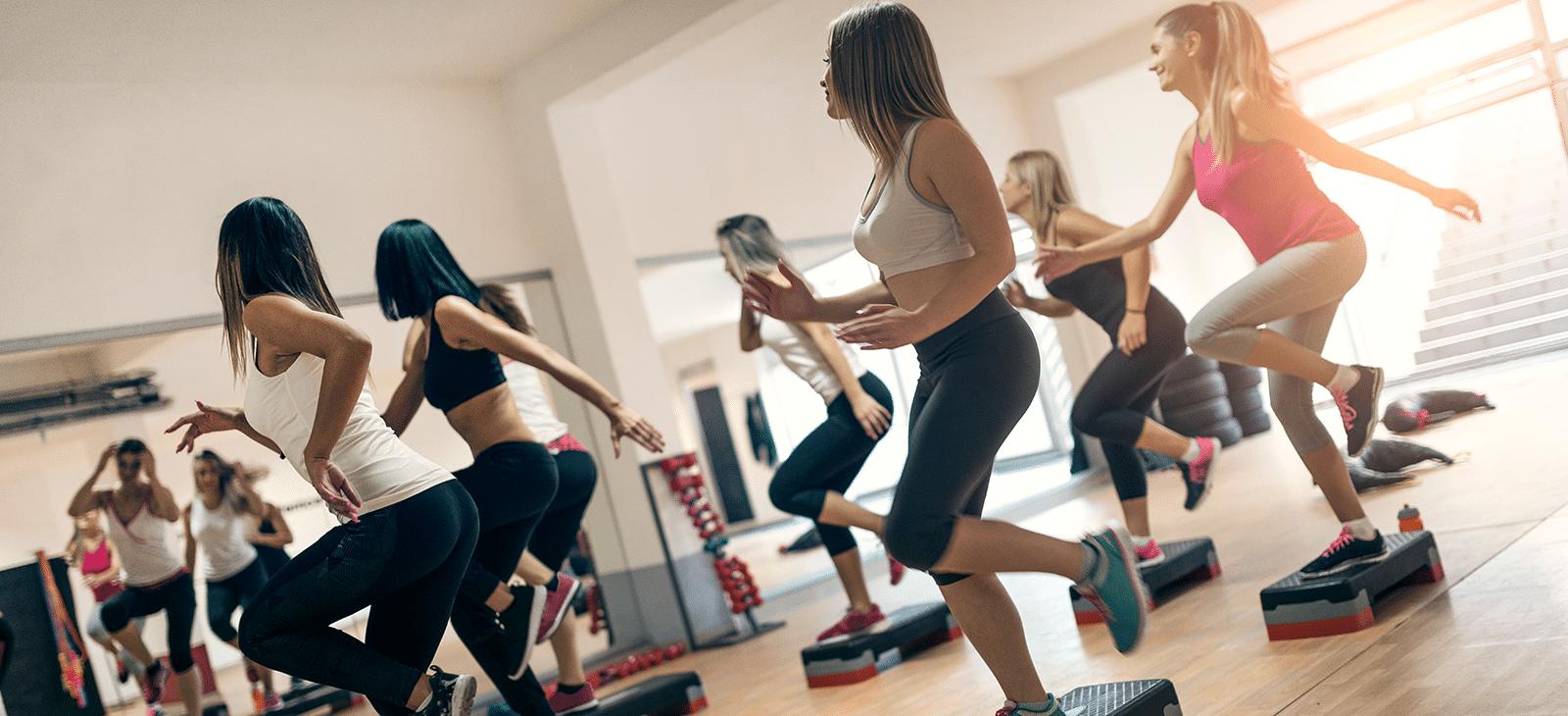 Step Aerobic Fitness-Kurs