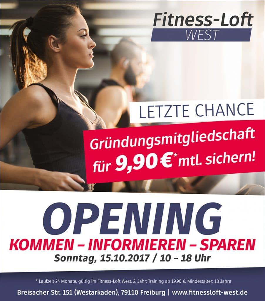 Opening Fitness-Loft West