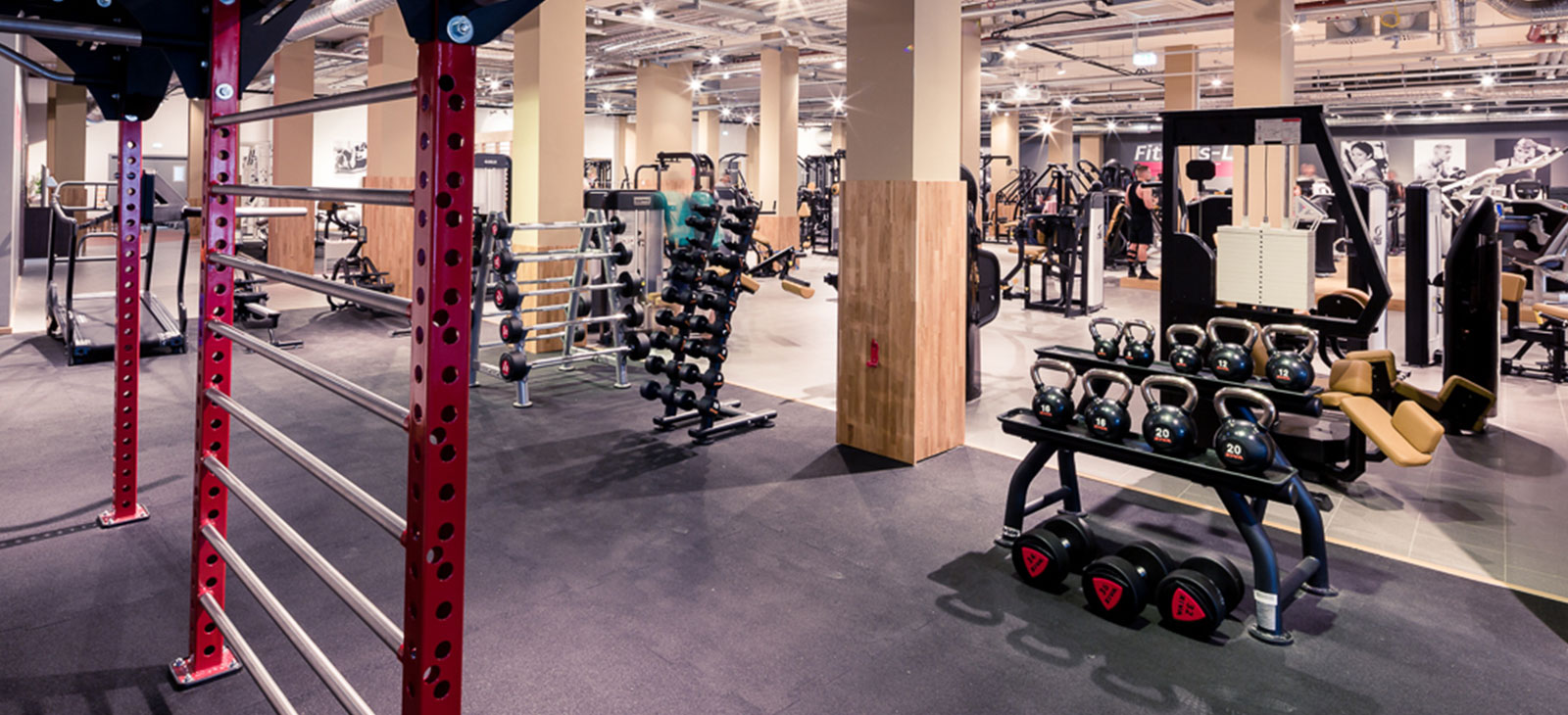 Fitness-Loft Freiburg West Blick ins Studio