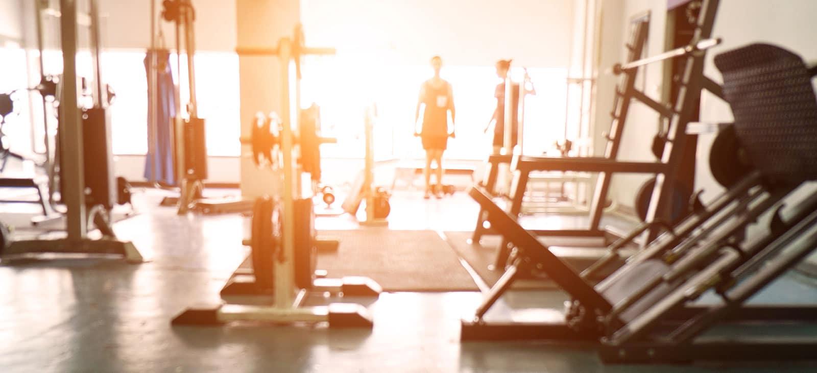 Impressionen eines Fitnessstudio