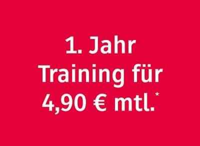 Training für 4,90 € im Fitness-Loft Lörrach