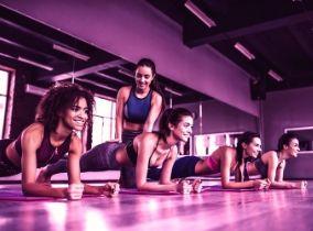 Frauen im Kursraum im Fitness-Loft Woman Emmendingen