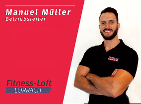 Betriebsleiter im Fitness-Loft Lörrach Manuel Müller