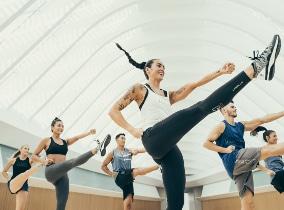 BodyAttack im Fitness-Loft