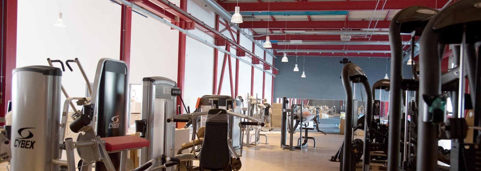 Hantelbereich im Fitness-Loft Lörrach