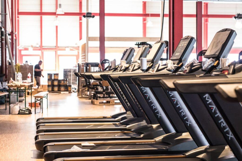 Laufbänder von Matrix im Fitness-Loft Lörrach