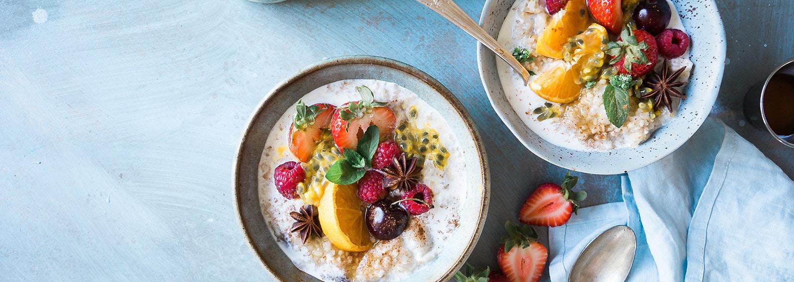 Gesund Frühstücken mit overnight oats