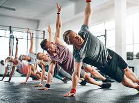 Functional Workout im Fitness-Loft