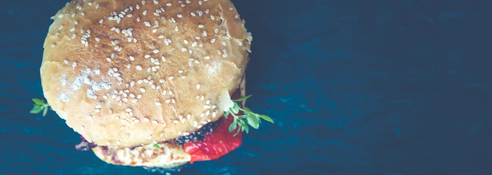 Gesunder Burger