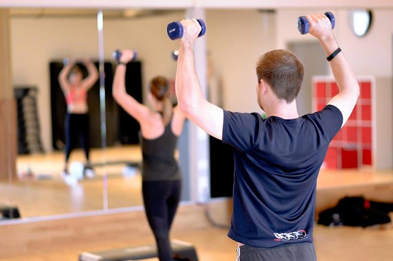 Fitnesskurs Bodyforming im Fitness-Loft Freiburg West mit Ben