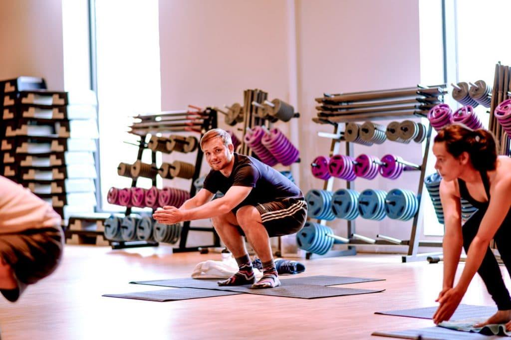Ben im Pilates