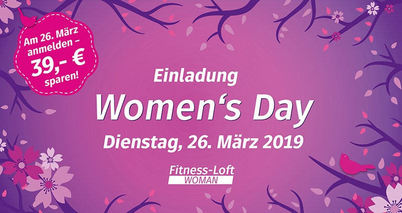 Women's Day am 26.03.19
