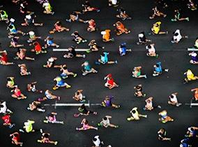 Trotz Marathon haben die Fitness-Lofts geöffnet