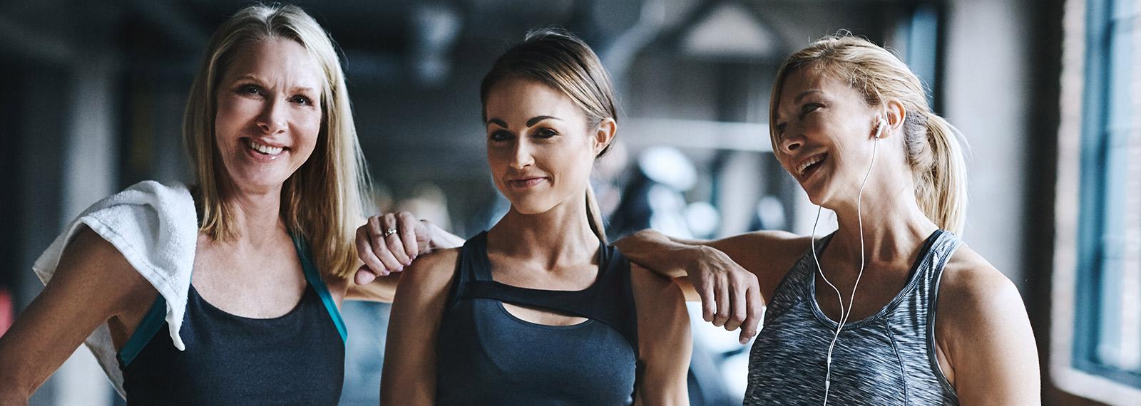 Frauen beim Fitness Training im Fitness-Loft