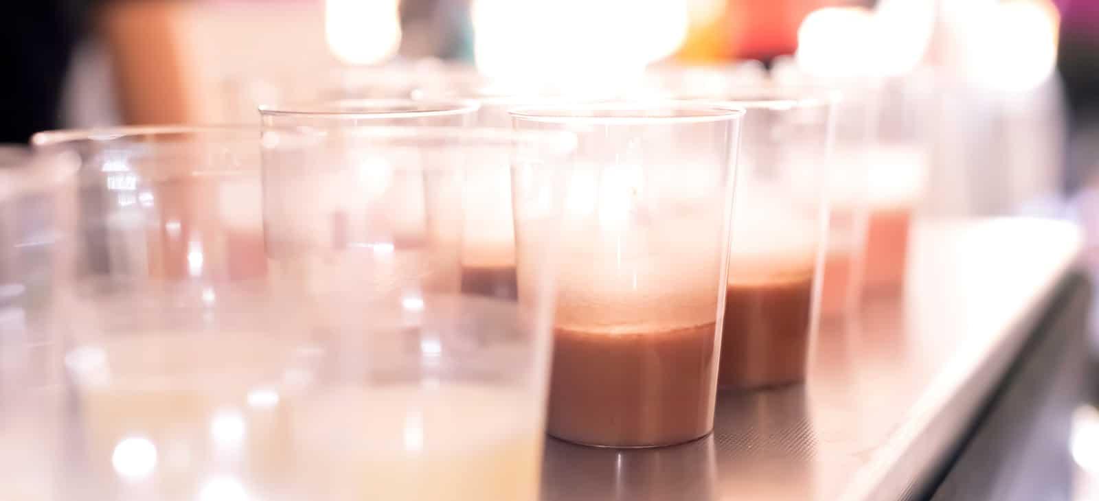 Protein Shakes im Fitnessstudio