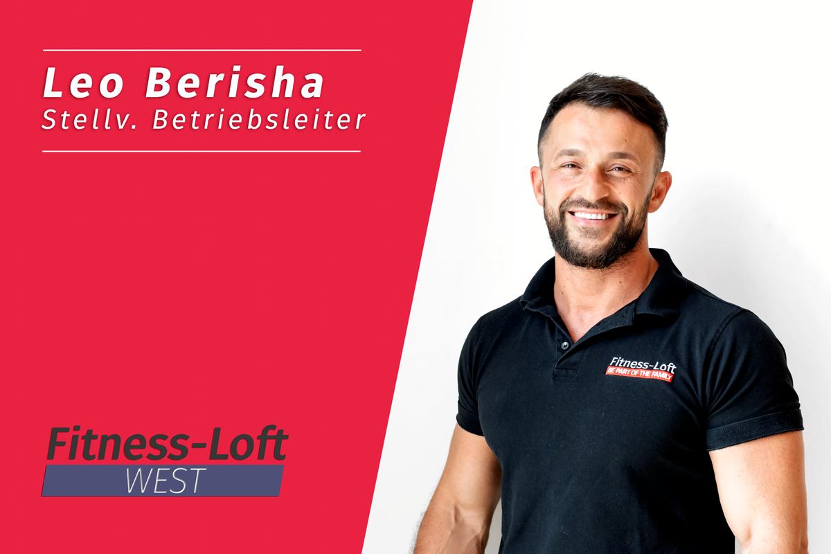 Leo Berisha aus dem Fitness-Loft West