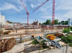 Grundsteinlegung für das neue Fitness-Loft Offenburg