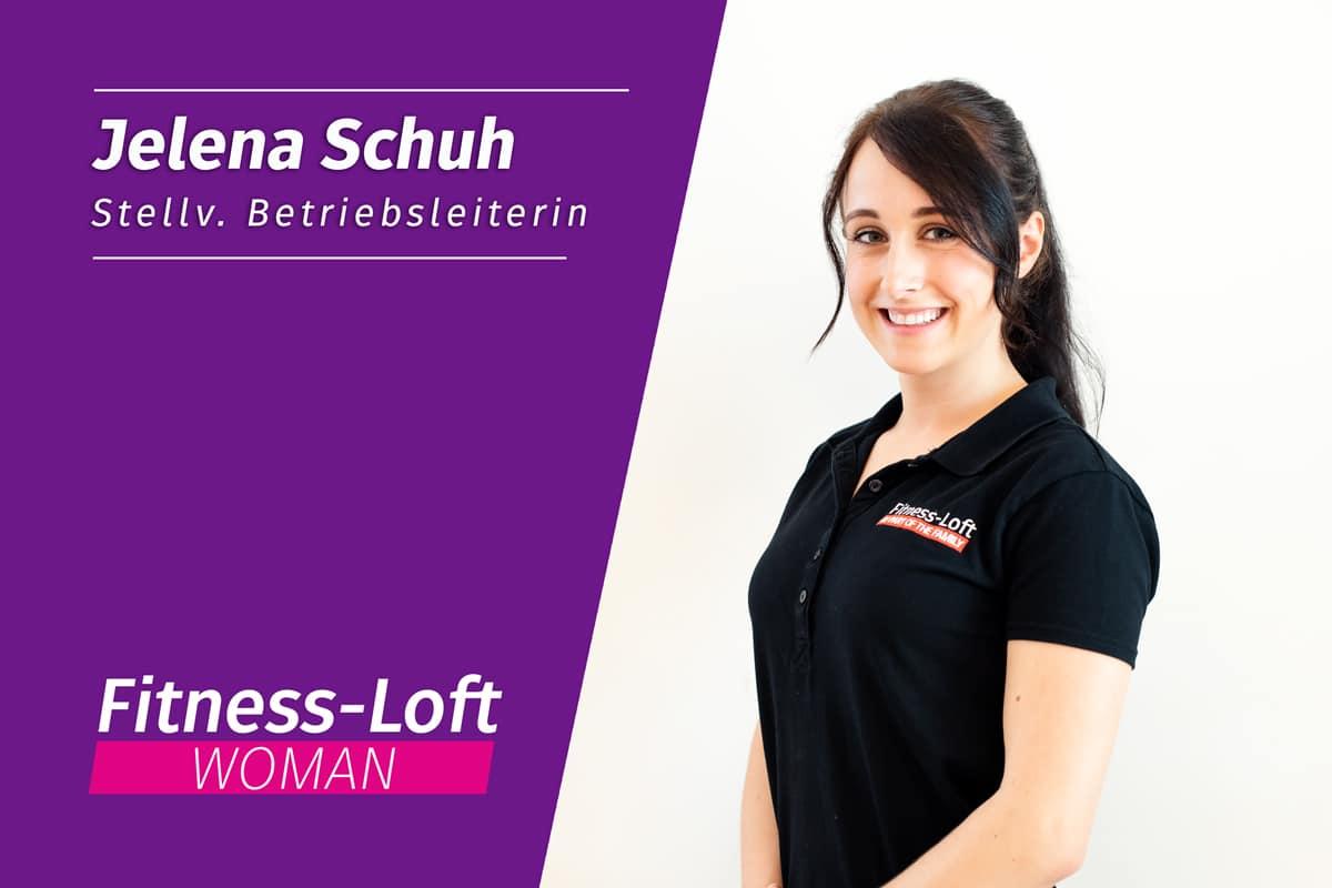 Betriebsleiterin Jelena aus dem Fitness-Loft Woman in Emmendingen