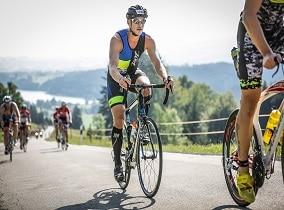 Tilmann beim Allgäu Triathlon