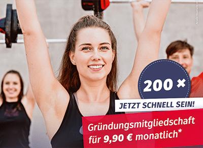 Angebot für Gründungsmitglieder im neuen Fitness-Loft Denzlingen