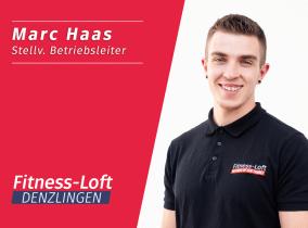 Marc Haas, stellvertretende Leitung im Fitness-Loft Denzlingen