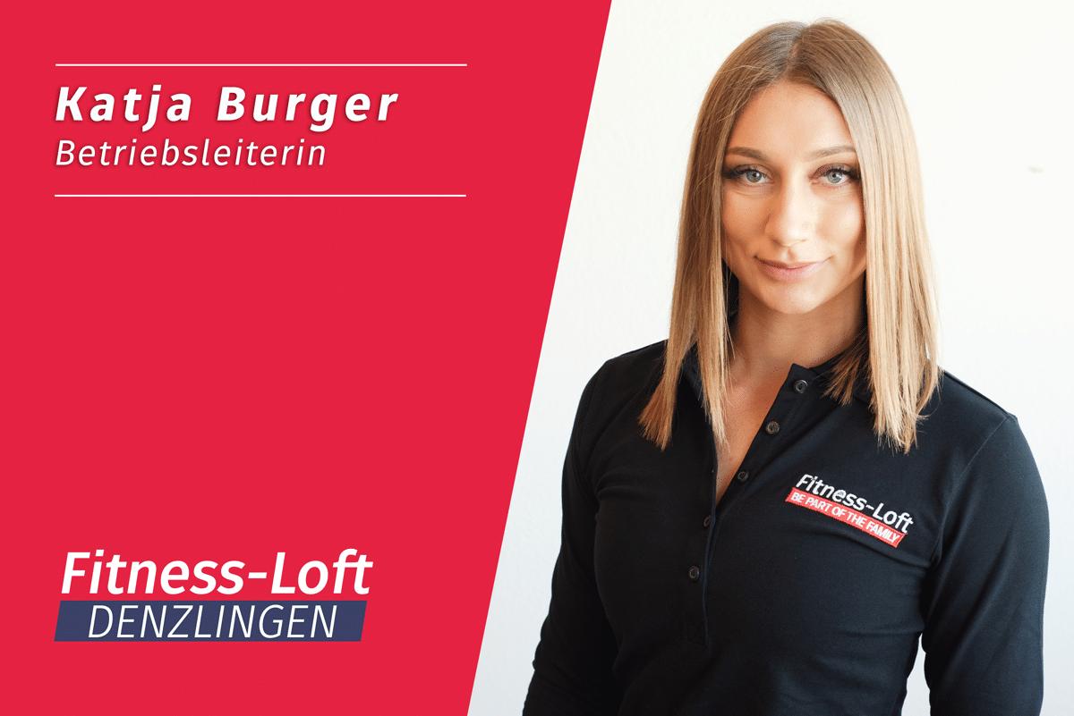 Betriebsleiterin Katja, aus dem Fitness-Loft Denzlingen