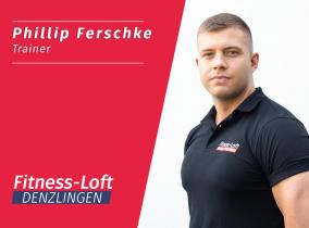 Phillip, Trainer im neuen Fitness-Loft Denzlingen
