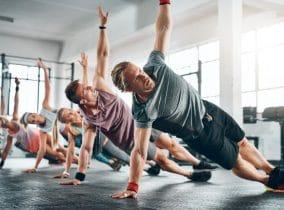 Kraft für die Körpermitte