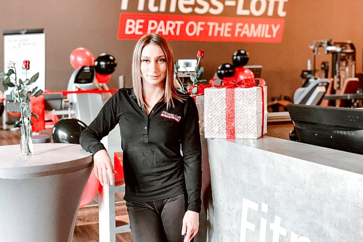 Katja, die Betriebsleiterin aus dem Fitness-Loft Denzlingen