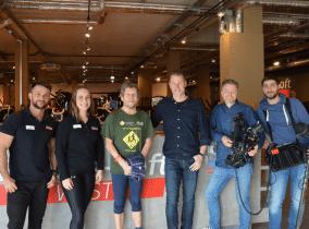 Klaus Holfeld und das SWR Kamerateam