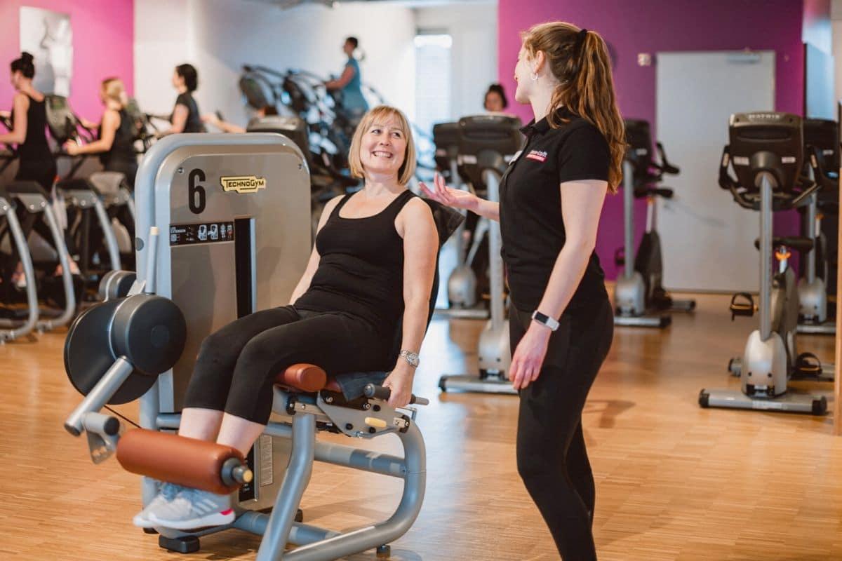 Erfolgsstory Tatjana Fitnesstraining unter Frauen