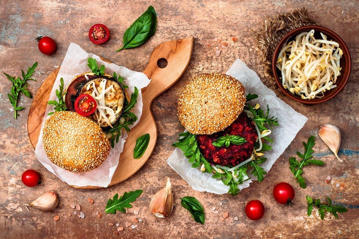 Gesunde Burger einfach selbst machen