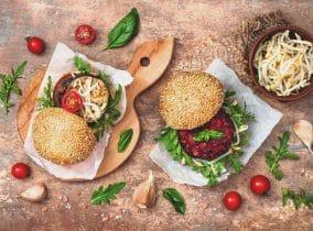 Gesunde Burger zum selbst machen