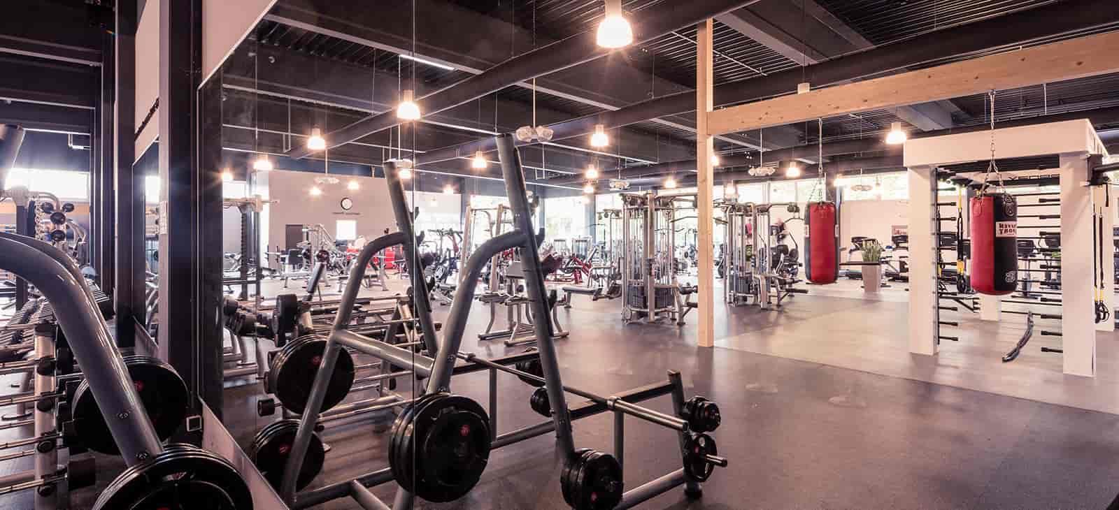 Fitnessstudio kraftwerk gundelfingen functional trainingsbereich