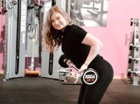 Techniktraining bei Lejla aus dem Fitness-Loft Woman in Emmendingen