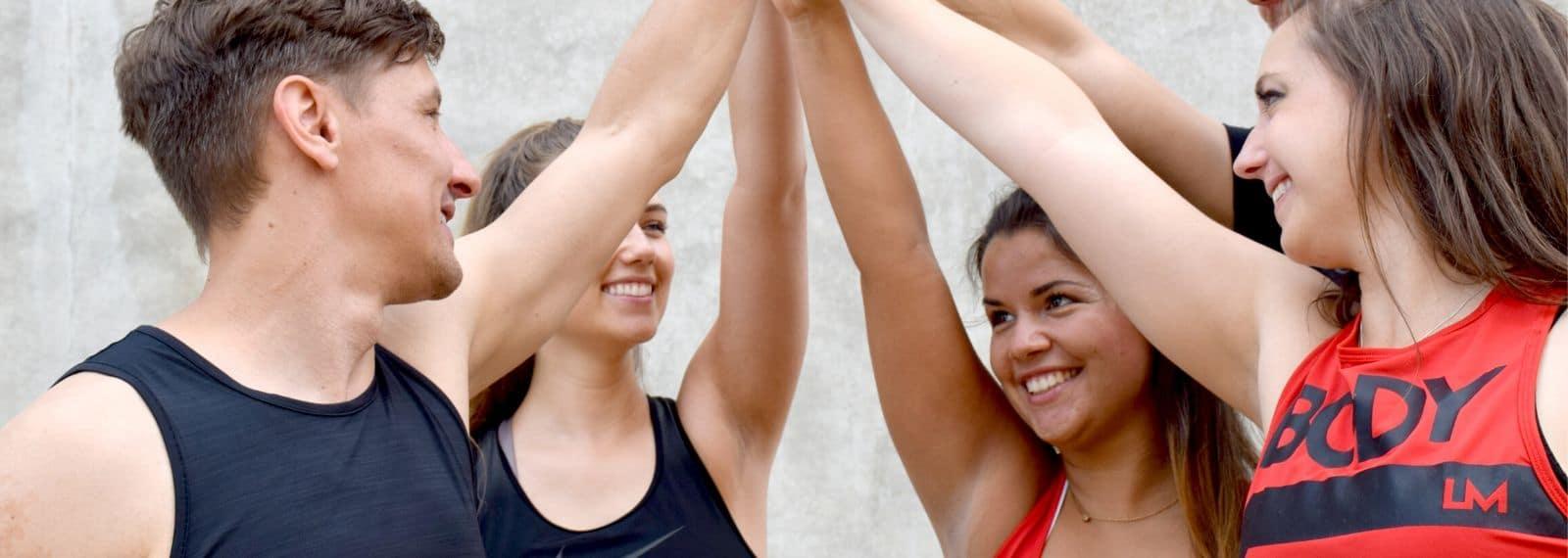 Trainerteam aus dem Fitness-Loft