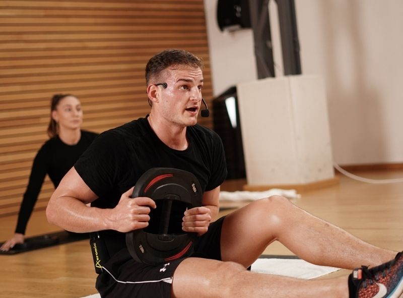 Krafttraining in den Onlinekursen von Fitness-Loft