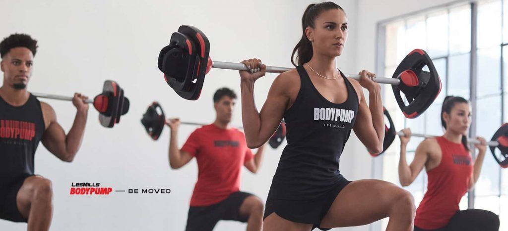 Fitnesskurs BodyPUMP von LesMills