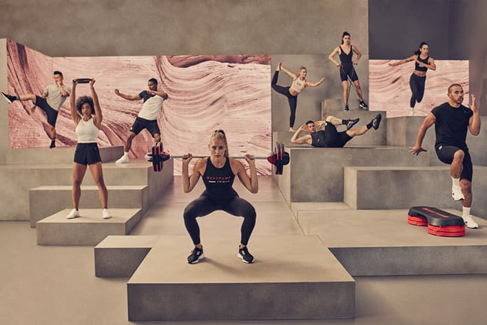 Les Mills Fitnesskurse