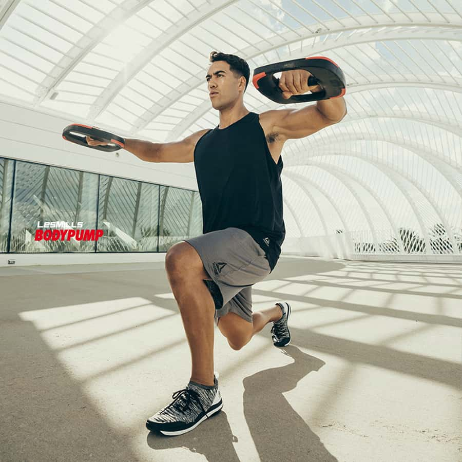 BodyPUMP von les Mills im Fitness-Loft Be Part of the Family