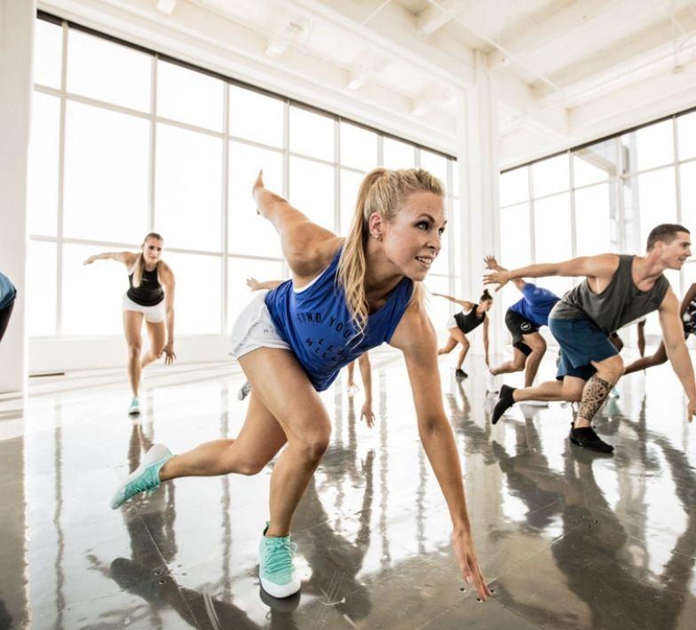 Fitnesskurs im Fitness-Loft