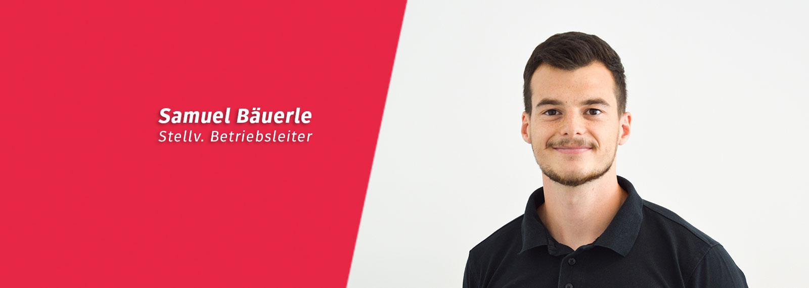 Samuel Bäuerle Trainer im Fitness-Loft Nord