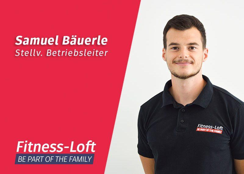 Trainer Samuel Bäuerle aus dem Fitness-Loft Nord