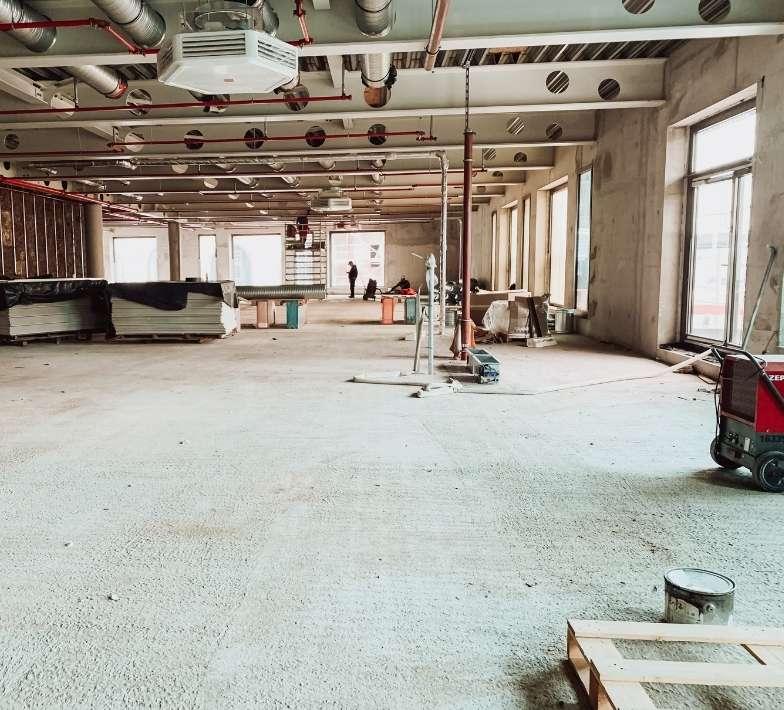 Baustelle Fitness-Loft Offenburg