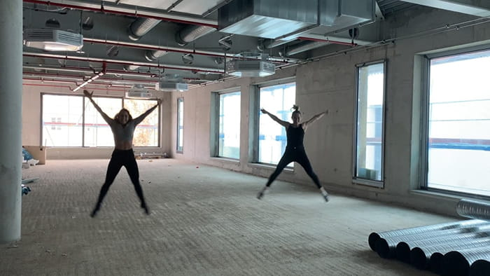 Work in Progress - der Kursraum im Fitness-Loft Offenburg