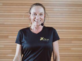 Trainerin Waldi aus dem Fitness-Loft