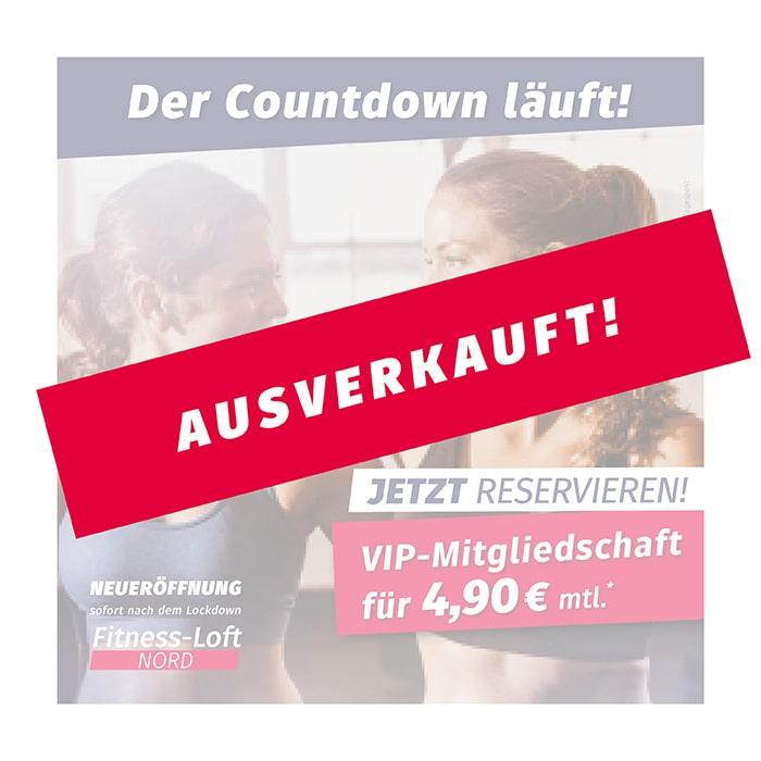 Fitness-Loft Freiburg Nord: Fitness für 4,90 €* mtl. ist ausverkauft