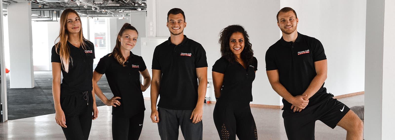 Trainer*innen Fitness-Loft be part of the family